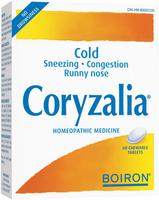 Boiron Coryzalia, 60 Tablets | NutriFarm.ca