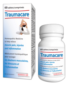 Homeocan Traumacare Tablets, 60 Tablets   NutriFarm.ca