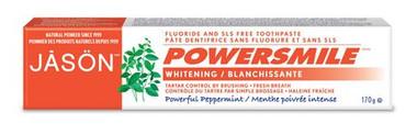 Jason Powersmile Whitening Toothpaste, 170 g | NutriFarm.ca