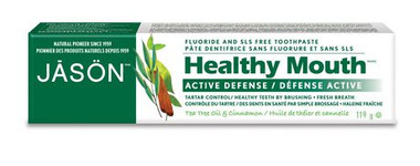 Jason Healthy Mouth Toothpaste, 119 g | NutriFarm.ca