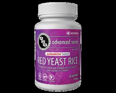 AOR Red Yeast Rice, 30 Capsules | NutriFarm.ca