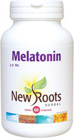New Roots Melatonin 10 mg, 60 Vegetable Capsules | NutriFarm.ca
