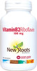 New Roots Vitamin B Riboflavin 100 mg, 60 Vegetable Capsules | NutriFarm.ca
