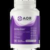 AOR Ortho Iron, 30 Vegetable Capsules | NutriFarm.ca
