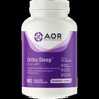 AOR Ortho Sleep, 60 Vegetable Capsules | NutriFarm.ca