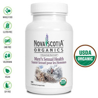 Nova Scotia Organics Men's Sexual Health, 90 Caplets | NutriFarm.ca
