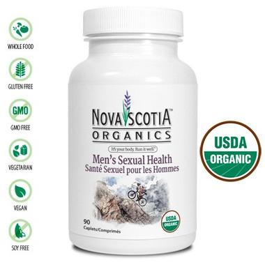 Nova Scotia Organics Men's Sexual Health, 90 Caplets | NutriFarm.ca