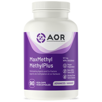 AOR MaxMethyl, 90 Vegetable Capsules | NutriFarm.ca