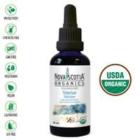 Nova Scotia Organics Valerian Tincture, 50 ml | NutriFarm.ca