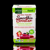 Pranin Organic PureFood Smoothie Booster Super Berry, 12 packs of 30 g | NutriFarm.ca