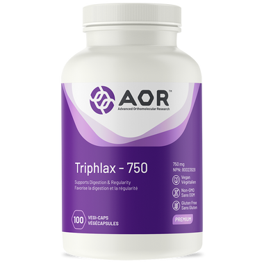 AOR Triphlax, 100 Vegetable Capsules | NutriFarm.ca