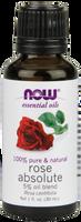NOW Rose Absolute 5%, 30 ml | NutriFarm.ca
