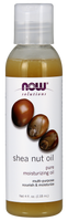NOW Shea Nut Oil Liquid 100% pure, 118 ml | NutriFarm.ca