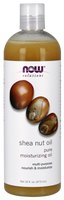 NOW Shea Nut Oil Liquid 100% pure, 473 ml | NutriFarm.ca