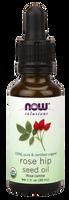 NOW Organic Rose Hip Seed Oil, 30 ml | NutriFarm.ca