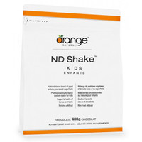 Orange Naturals ND Shake Kids Chocolate, 400 g | NutriFarm.ca