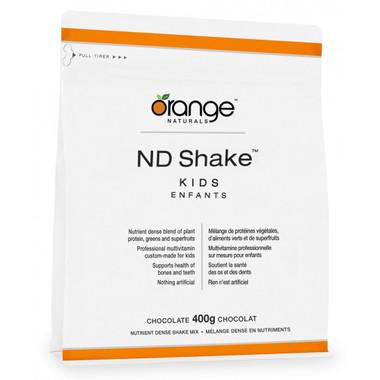 Orange Naturals ND Shake Kids Chocolate, 400 g | NutriFarm.ca