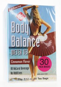 Uncle Lee's Tea Body Balance Dieter Tea (Cinnamon), 30 Tea Bags | NutriFarm.ca