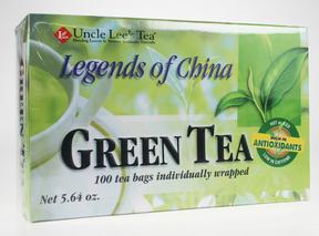 Uncle Lee's Tea Legends of China Green Tea, 100 bags   NutriFarm.ca
