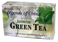Uncle Lee's Tea Jasmine Green Tea, 100 bags | NutriFarm.ca