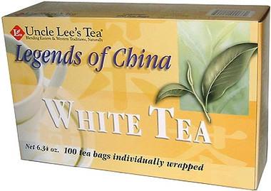 Uncle Lee's Tea Legends of China White Tea, 100 bags   NutriFarm.ca