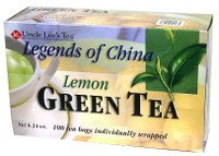 Uncle Lee's Tea Lemon Green Tea, 100 bags | NutriFarm.ca