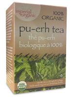 Uncle Lee's Tea Organic Pu Erh Tea, 18 bags | NutriFarm.ca