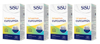 SISU Full Spectrum Curcumin, 4 x 60 Softgels | NutriFarm.ca