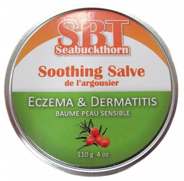 SBT Seabuckthorn Soothing Salve, Eczema and Dermatitis, 110 g | NutriFarm.ca