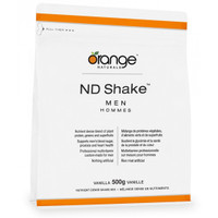 Orange Naturals ND Shake Men Vanilla, 500 g | NutriFarm.ca