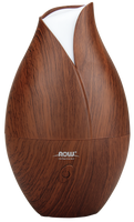 NOW Faux Wood Ultrasonic Essential Oil Diffuser, 1 unit | NutriFarm.ca