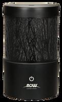 NOW Metal Touch Ultrasonic Essential Oil Diffuser (Black), 1 unit   NutriFarm.ca