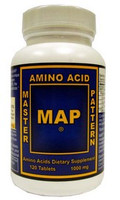 Master Amino Acid Pattern (MAP), 120 tablets