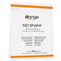 Orange Naturals ND Shake Original Vanilla, 500 g | NutriFarm.ca