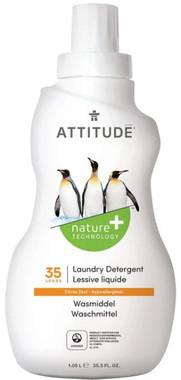 Attitude Laundry Detergent Citrus Zest, 1.05 L   NutriFarm.ca