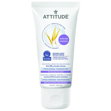 Attitude Natural Deep Repair Cream, 75 ml | NutriFarm.ca