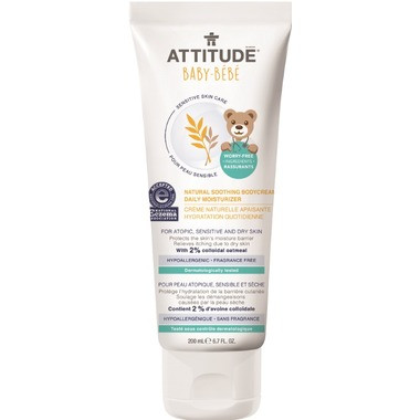 Attitude Natural Soothing Body Cream, 200 ml | NutriFarm.ca