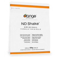 Orange Naturals ND Shake Original Chocolate, 500 g | NutriFarm.ca
