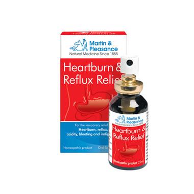 Martin Pleasance HCR Heartburn and Reflux, 25 ml Spray | NutriFarm.ca