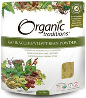 Organic Traditions Kapikacchu Powder, 200 g | NutriFarm.ca