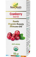 New Roots Cranberry Seed Oil, 15 ml | NutriFarm.ca
