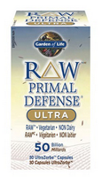Garden of Life Raw Primal Defense Ultra, 30 Capsules | NutriFarm.ca
