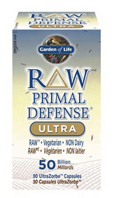 Garden of Life Raw Primal Defense Ultra, 30 Capsules | NutriFarm.ca