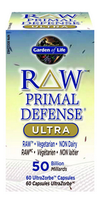 Garden of Life Raw Primal Defense Ultra, 60 Capsules | NutriFarm.ca