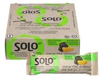 Solo GI Dark Chocolate Mandarin, Box of 12 (50 g/bar) | NutriFarm.ca