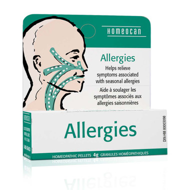 Homeocan Allergies Pellets, 4 g | NutriFarm.ca