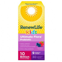 Renew Life Ultimate Flora Kids Probiotic 10 Billion, 30 Vegetable Capsules | NutriFarm.ca