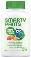 SmartyPants Kids Formula and Fiber, 120 Gummies | NutriFarm.ca