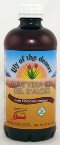 Lily of The Desert Aloe Vera Gel (Inner Fillet), 946 ml | NutriFarm.ca