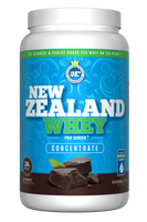 New Zealand Whey Concentrate Chocolate, 910 g | NutriFarm.ca